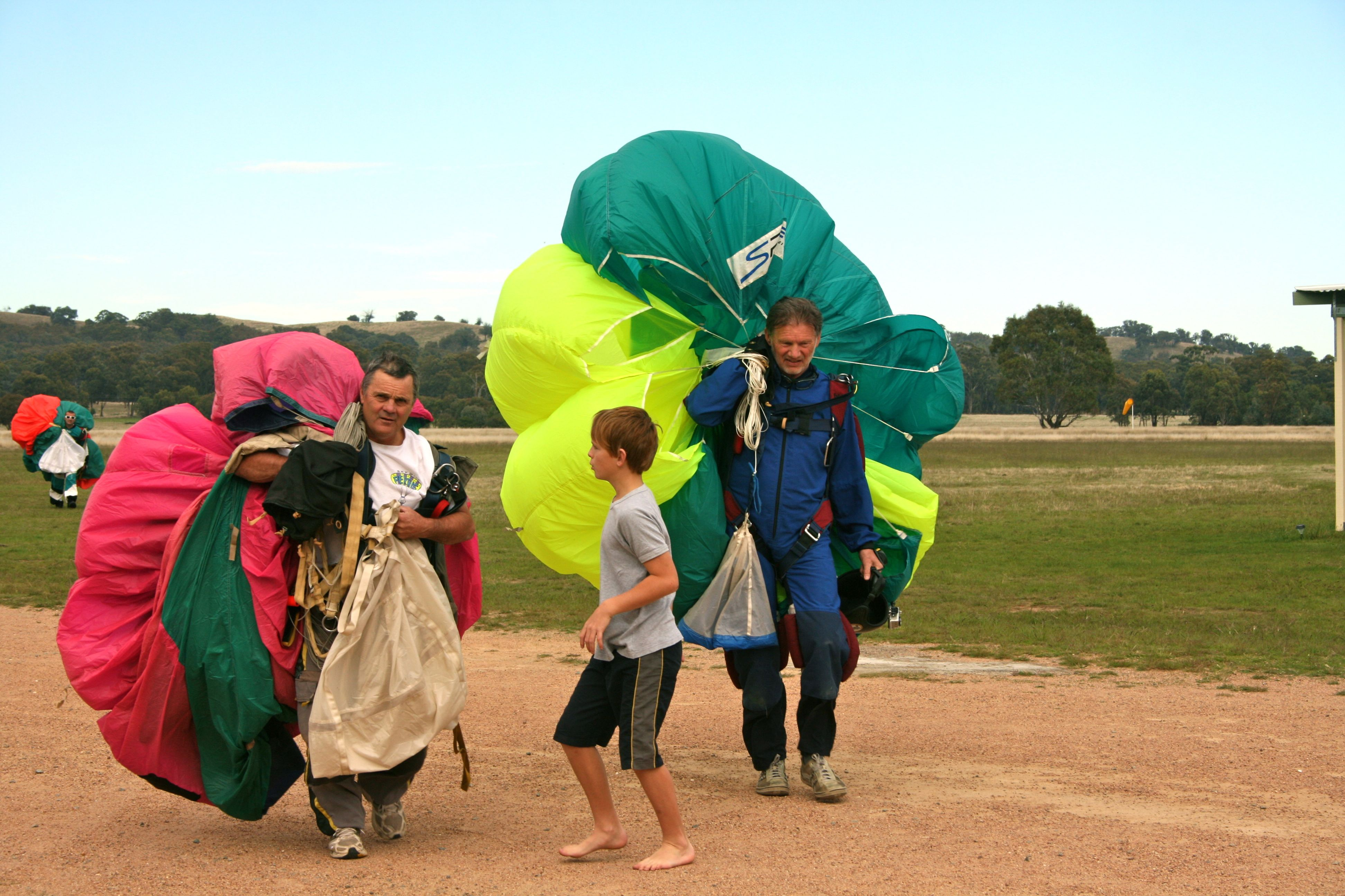 It's a family affair - skydiving Melbourne