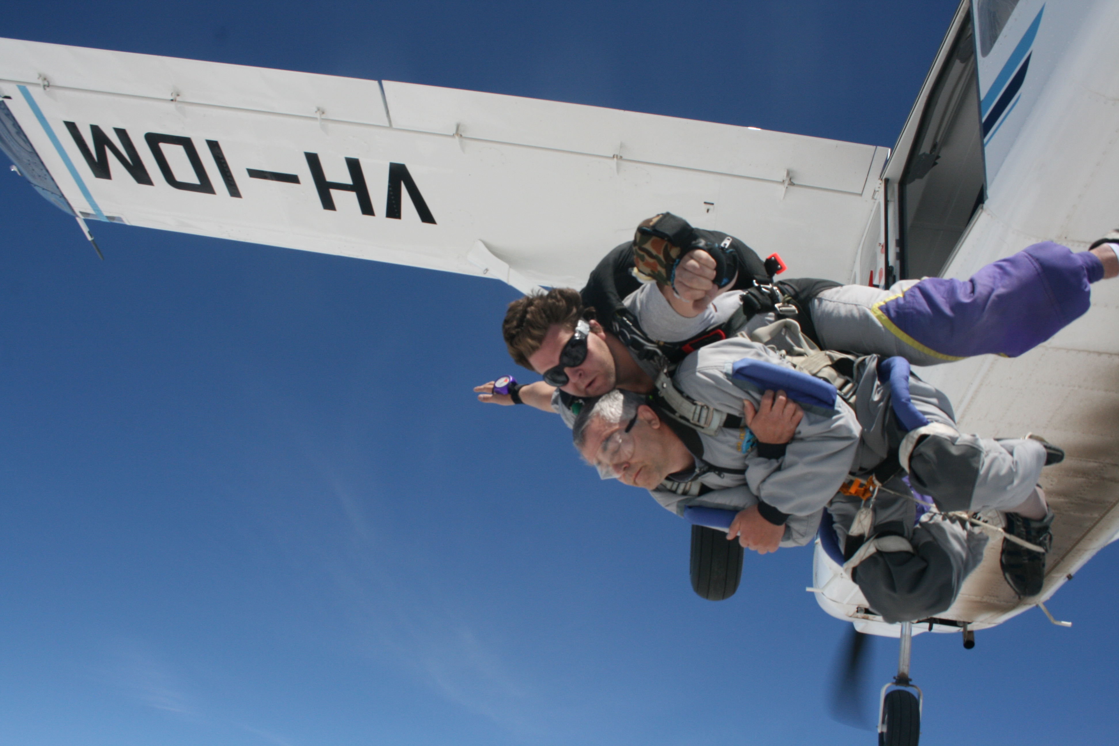 About to do a tandem jump with Skydiving Melbourne, click to book now!