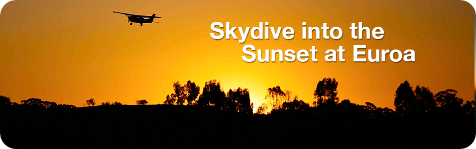 Skydive into the Sunset at Euroa